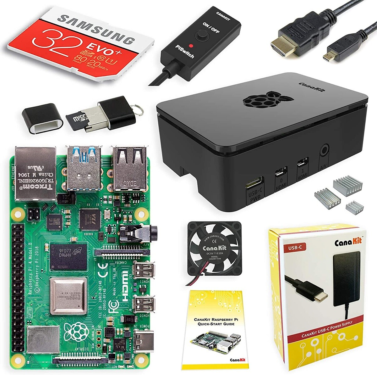 Raspberry Pi 4 Starter Kits