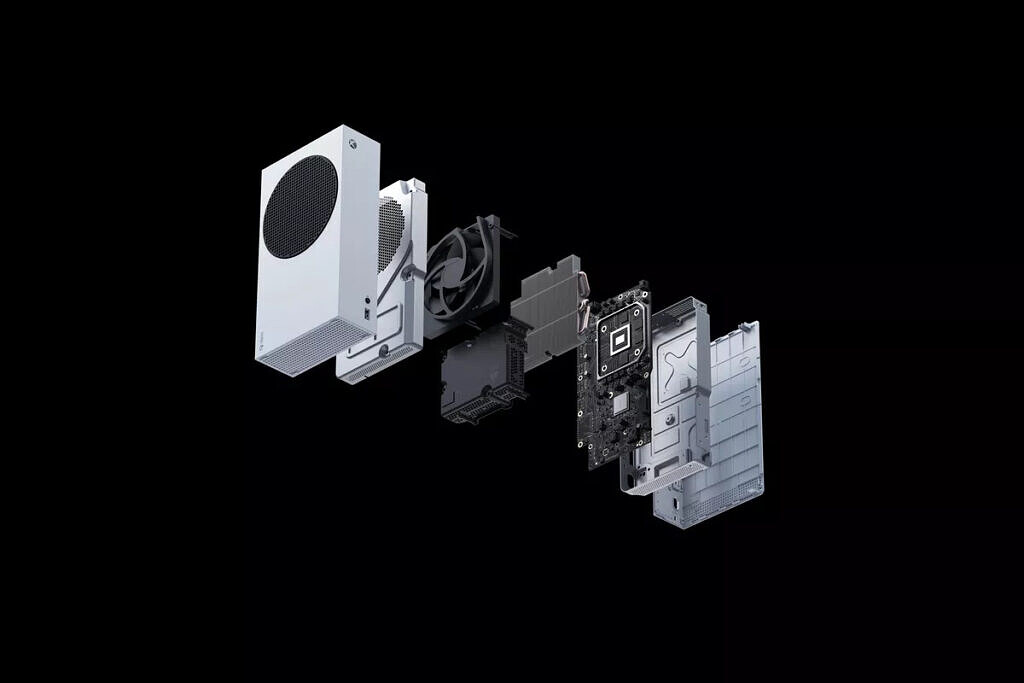 xbox series s exploded view
