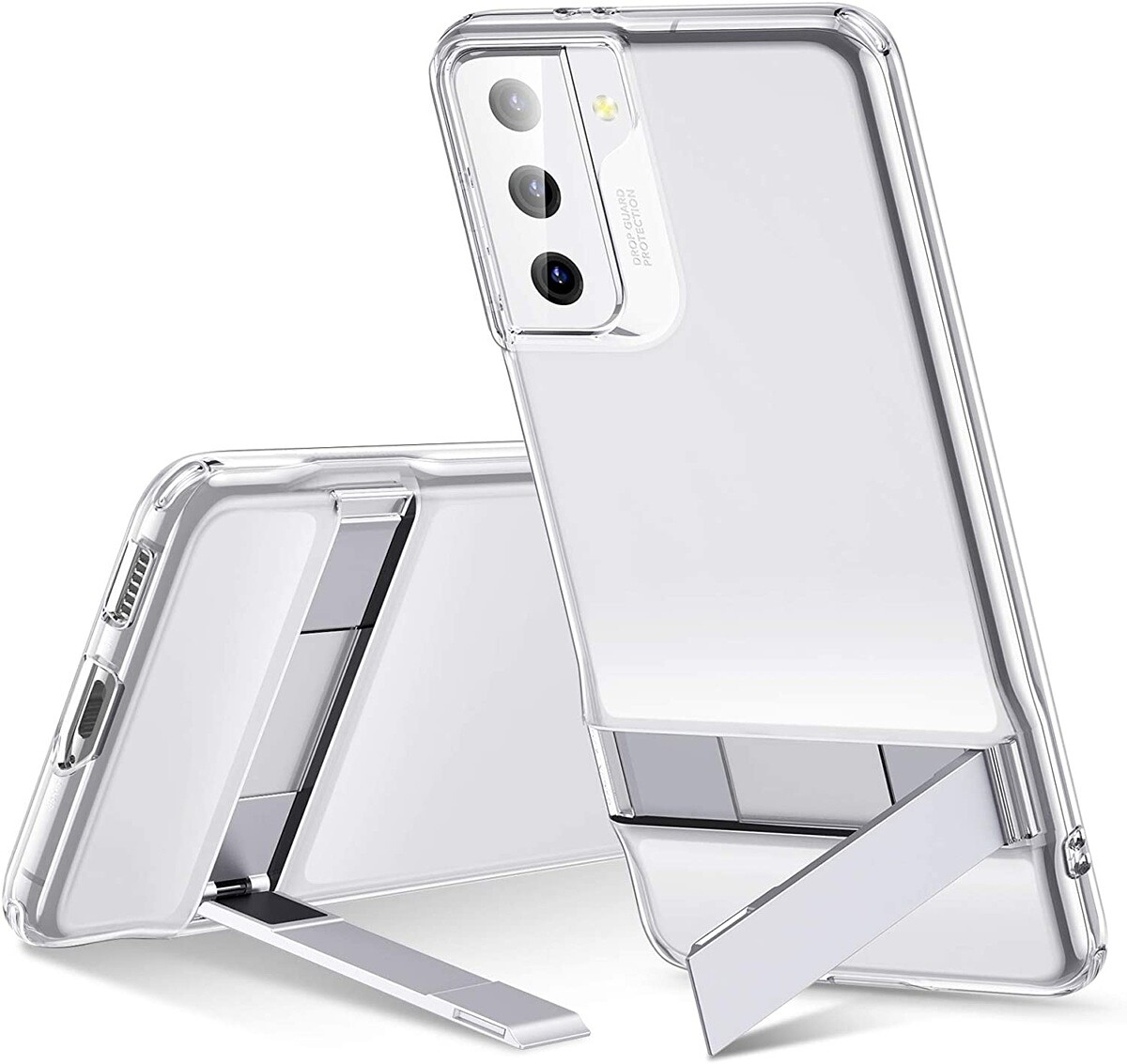 ESR Clear Case with Kickstand for Galaxy S21