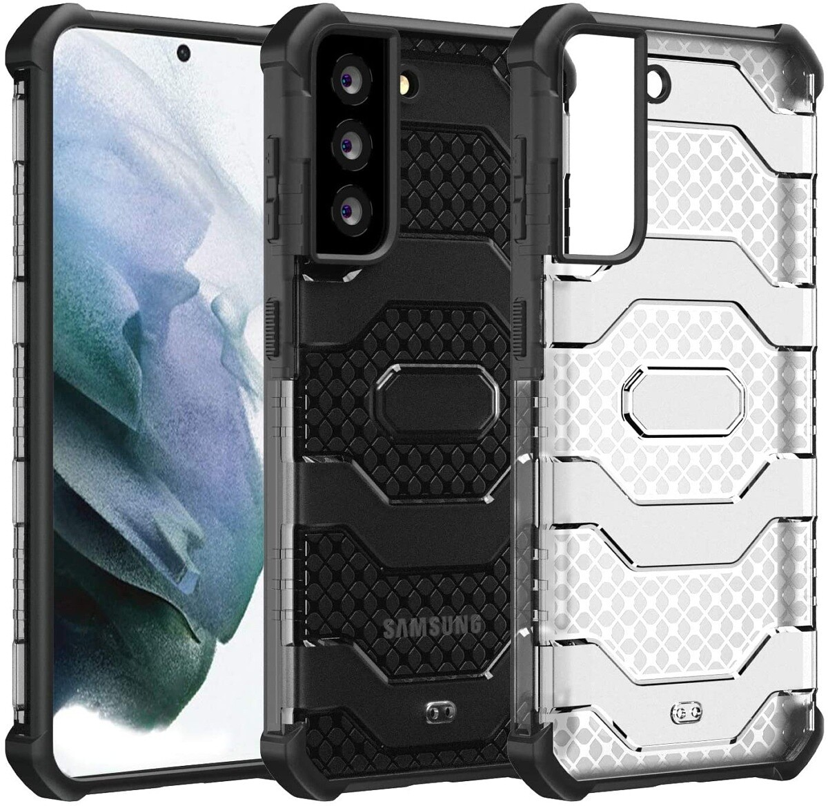 Restoo Rugged Case for Galaxy S21 Plus