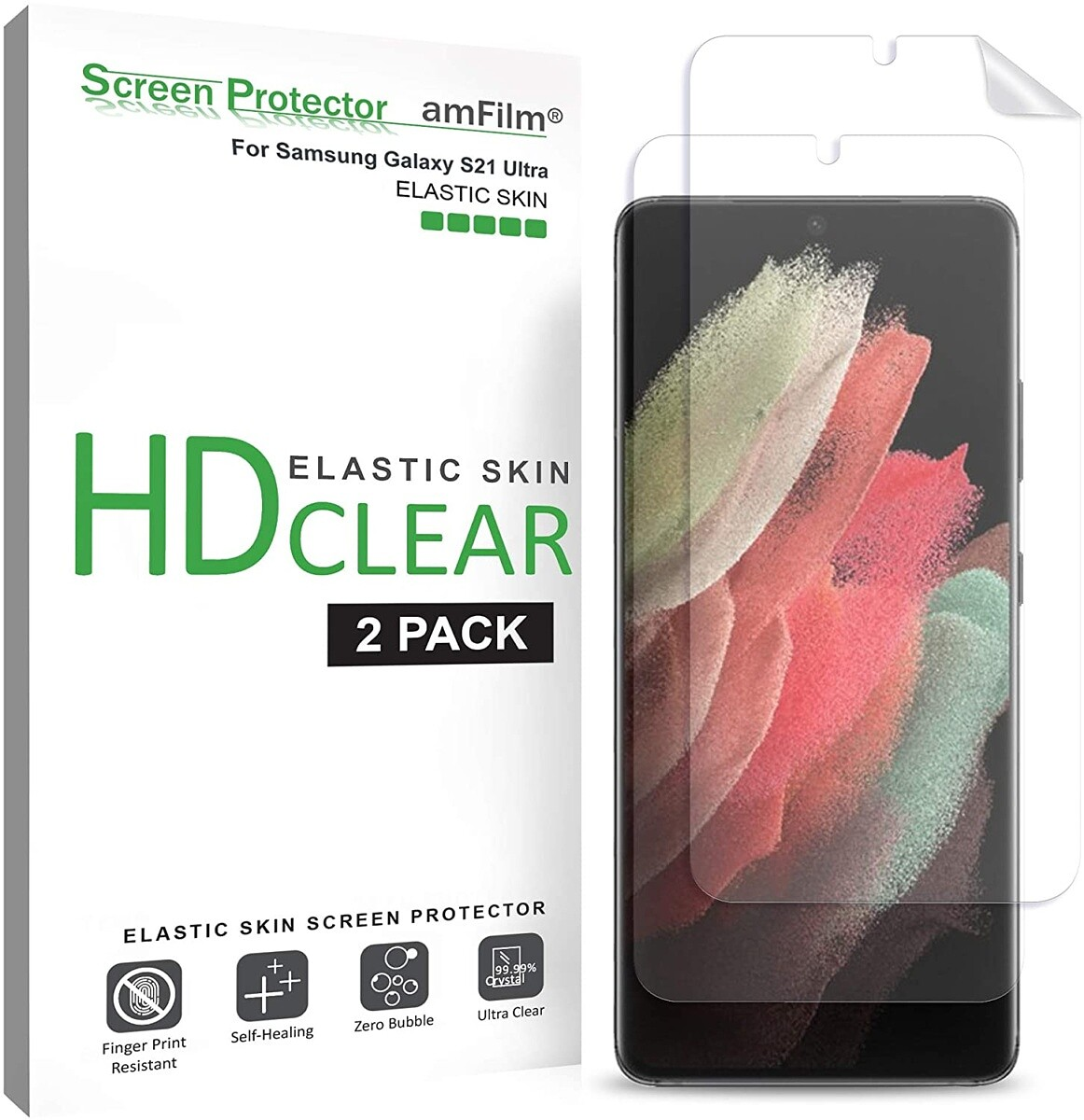 amFilm Plastic Screen Protector S21 Ultra
