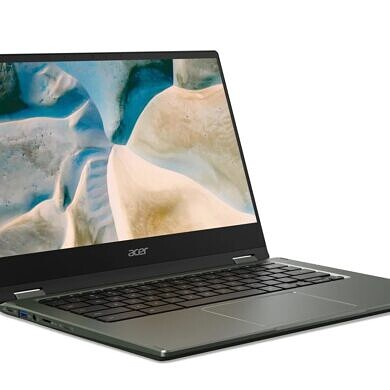 Acer's Chromebook Spin 514 features AMD's Ryzen 3000 mobile processor