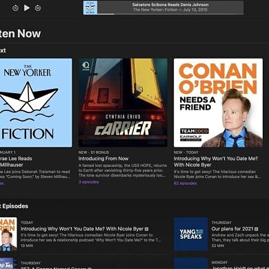 Apple reportedly eyeing subscription podcast service