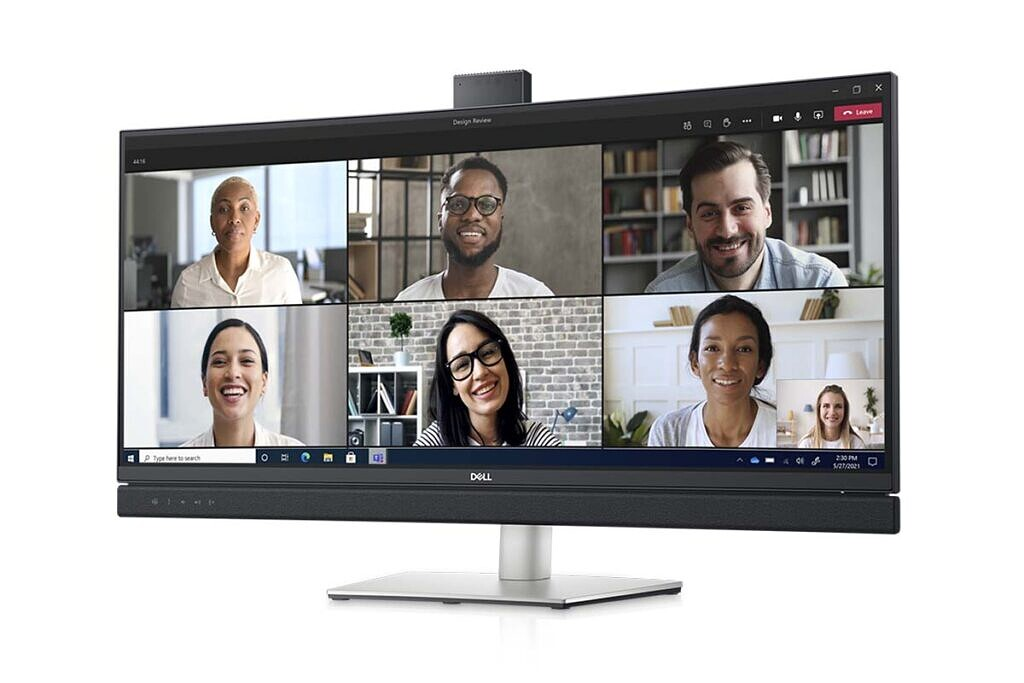 Dell 34 Curved Video Conferencing Monitor product image