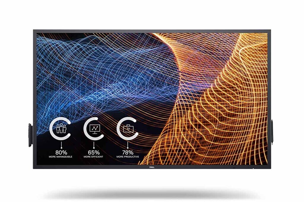 Dell 65 4K Interactive Touch Monitor product image