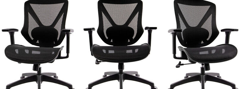 Save $100 on the Dexley Mesh Computer Chair and treat your back better in the new year