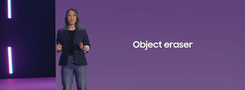 The Galaxy S21's new Object Eraser feature can remove people from photos