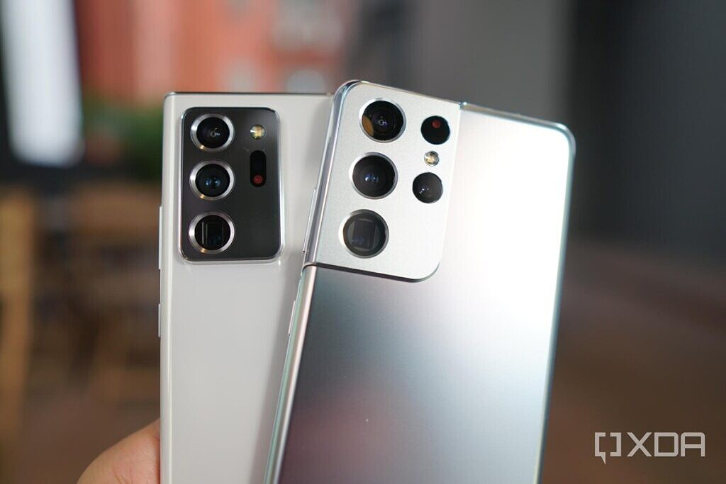 The camera systems of the Note 20 Ultra and S21 Ultra