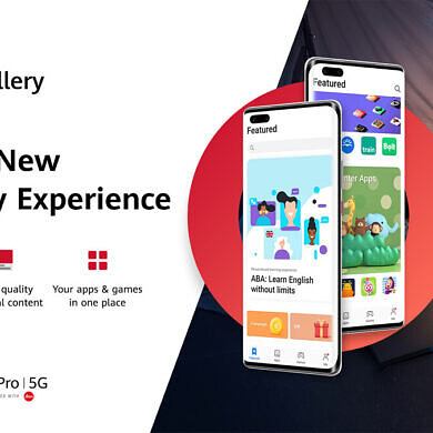 """Huawei redesigns its AppGallery app store, adds a new """"Featured"""" tab"""