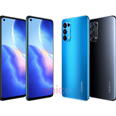 OPPO may launch the Reno5 5G as the Find X3 Lite in some markets