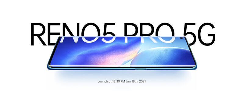 The OPPO Reno 5 Pro with MediaTek's Dimensity 1000 Plus launches in India in 2 weeks