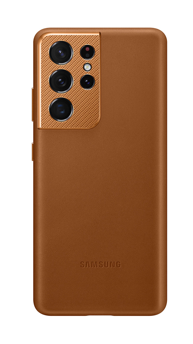 Galaxy S21 Ultra Leather Cover