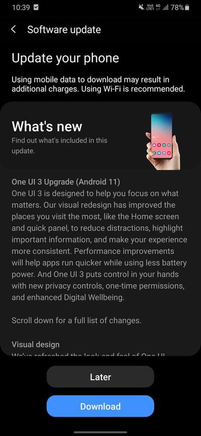 Samsung Galaxy M31 Android 11 One UI 3.0 Stable 1