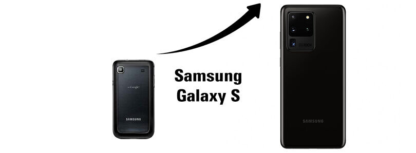 Samsung Galaxy S to S20: Looking back at Samsung's flagship lineup