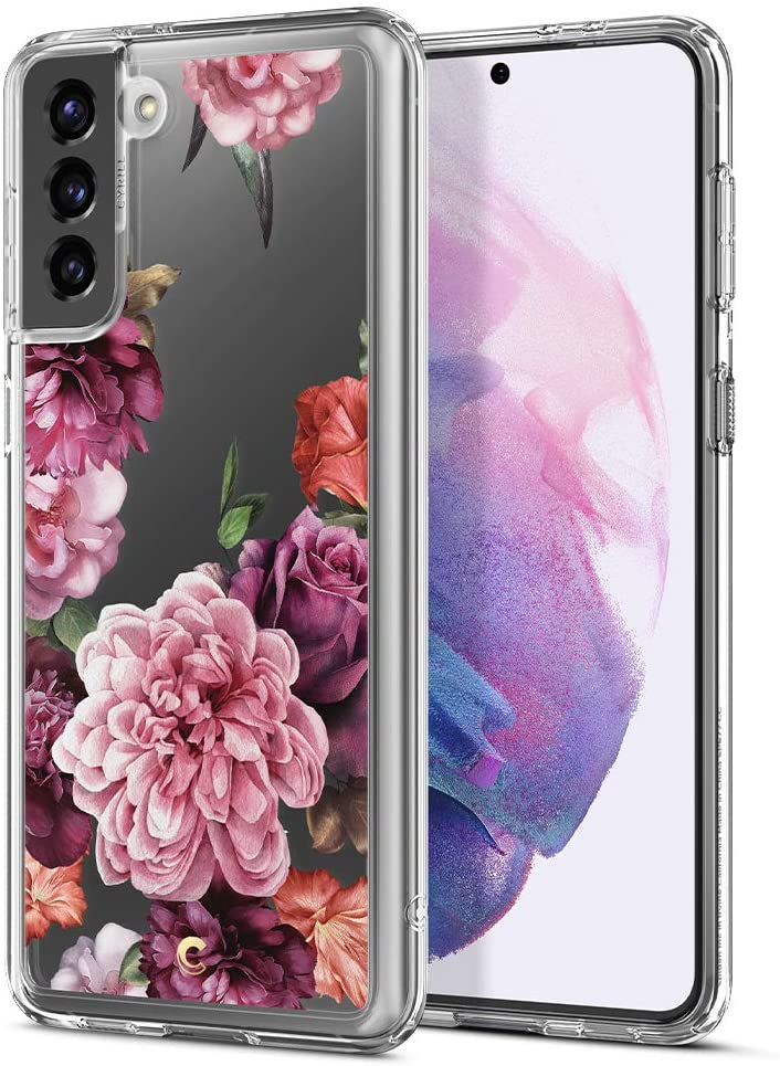 Cyrill Floral Pattern Clear Case