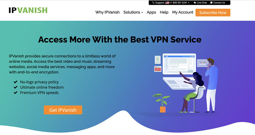IPVanish is a great all-round streaming VPN.