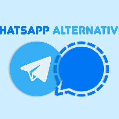 Telegram and Signal are the two viable alternatives to WhatsApp