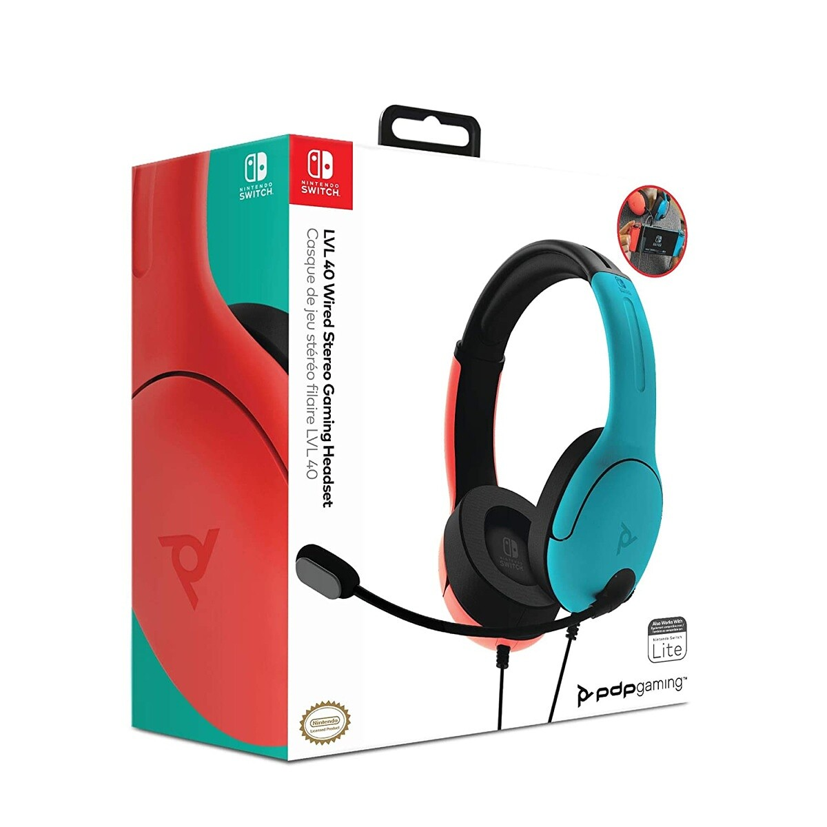 PDP LVL40 Wired Stereo Gaming Headset