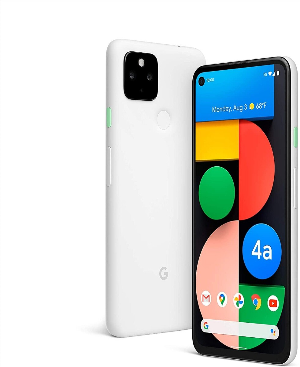 Google Pixel 4a 5G (Clearly White)