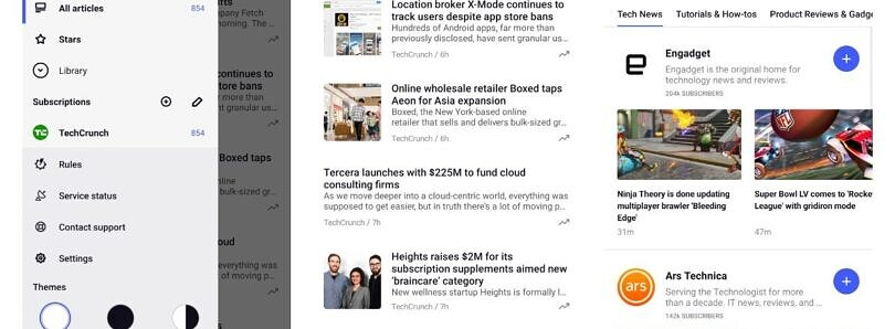 Popular RSS reader app 'Inoreader' gets a big UI refresh with version 7