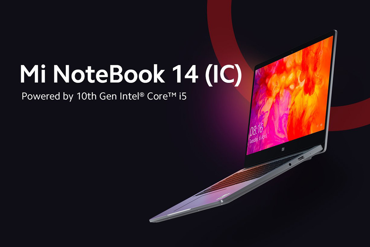 Mi NoteBook (IC) with integrated webcam launches in India at ₹43,999
