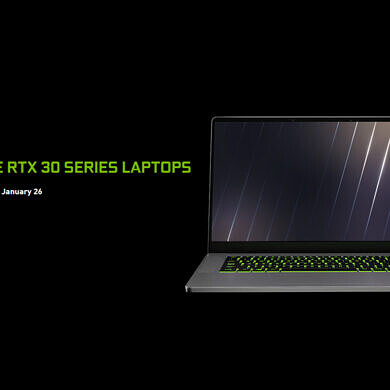 NVIDIA GeForce RTX 30 Series Mobile GPUs for laptops officially announced
