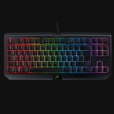 Save $50 on the Razer BlackWidow TE Chroma keyboard and get compact, clicky quality