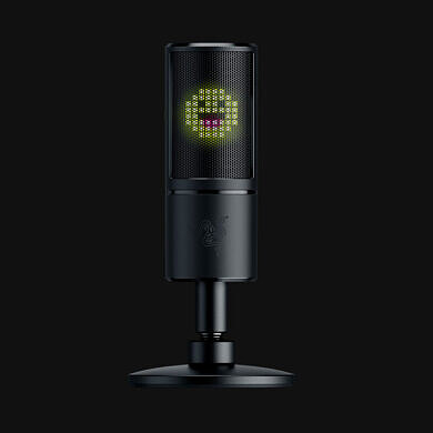 Get a microphone that's as expressive as you are, the Razer Seiren Emote, for $80 off