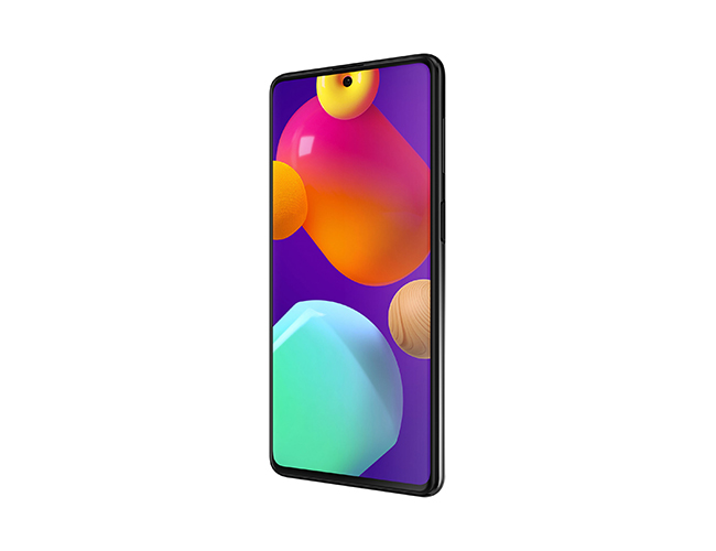 Galaxy M62 front