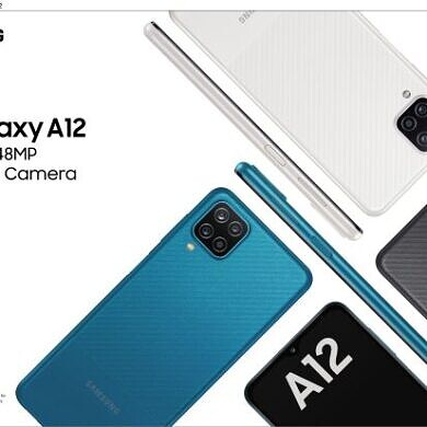 Samsung Galaxy A12 lands in India with a 5,000mAh battery and quad cameras
