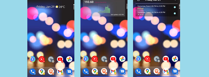 Action Launcher v47 update brings iOS-style widget stacks to Android