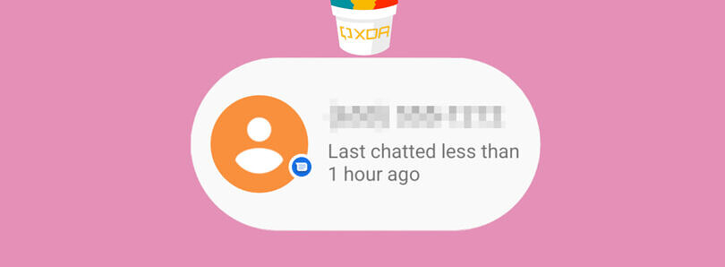 Here's our first real look at Android 12's new Conversation widget