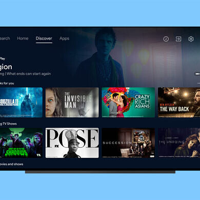 Sony Bravia TVs are getting Android TV's new Discover tab