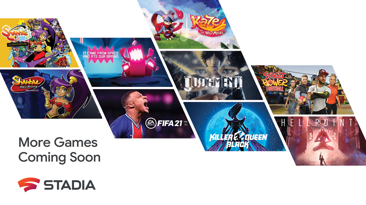 Google Stadia to offer over 100 games this year, including FIFA 21, Far Cry 6 and more