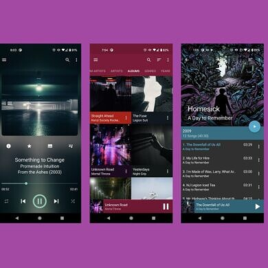 GoneMAD Music Player gets a major update with a brand new UI
