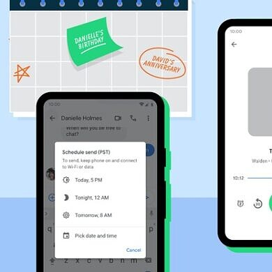 Android update includes Password Checkup, scheduled Messages, and more