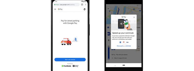 Google Maps now supports in-app payments for parking and transit fares
