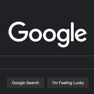 Google Search on desktop is finally getting a dark theme