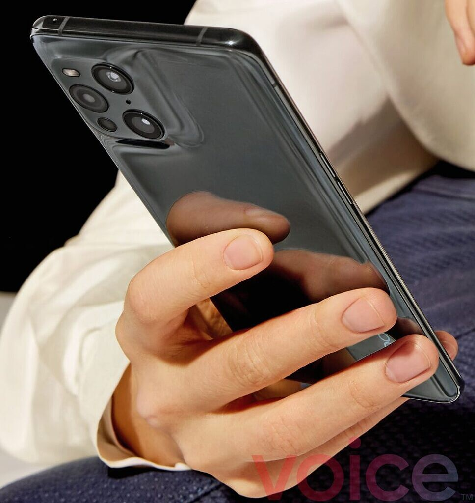 OPPO Find X3 Pro leaked official image