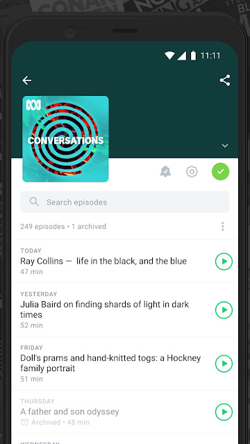 Pocket Casts Podcast App on Android