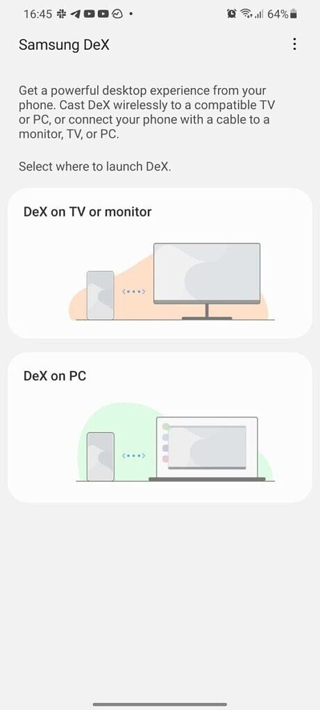 Samsung DeX wireless