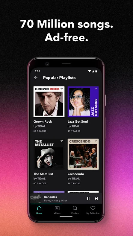 best music player apps Tidal