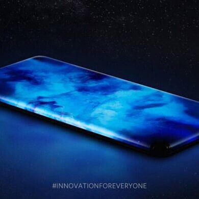 Xiaomi's new Waterfall Display concept phone looks like a sci-fi movie prop