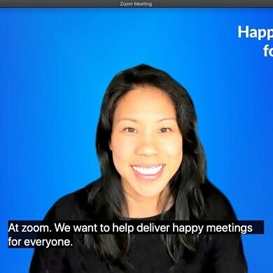 Zoom bringing automatic closed captioning to free users later this year