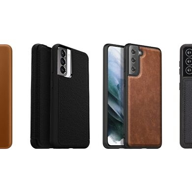 These are the best Galaxy S21 leather cases in Summer 2021: OtterBox, Torro, Kqimi, and more!