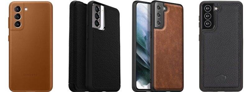 These are the Best Galaxy S21 Leather Cases in Summer 2021: OtterBox, Lohasic, and more!