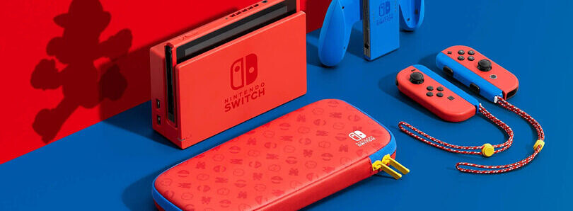The special Red & Blue Mario Edition Nintendo Switch is available for purchase–here's where to grab one