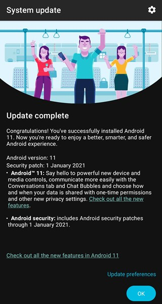 Moto G Pro Android 11 update