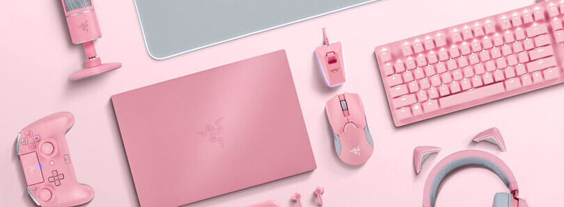 Say 'I love you' to the gamer in your life with a discount on Razer Quartz products