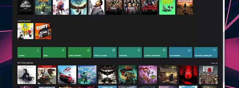 Here's what Microsoft xCloud will look like in a web browser